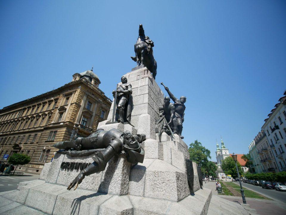 Pomnik w krakowie